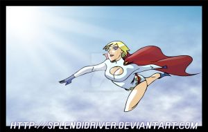 Powergirl by splendidriver