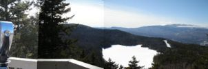 Summit panorama by BellaCielo