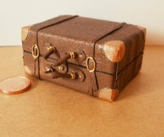 Miniature suitcase by RevelloDrive1630