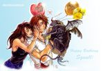 FFVIII: The Day of the Lion by Rinoaxyzriana