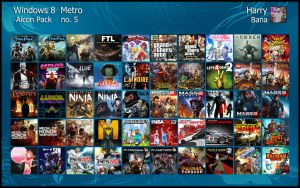 Windows 8 Metro Aicon Pack 5 by HarryBana
