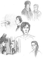 BBC Sherlock sketch by Lilli-K