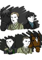 Benedict and Tom by kakaleng1