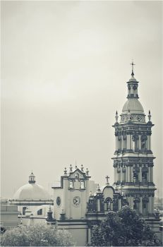 Monterrey Cathedral by jazzypao