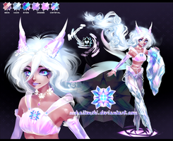 Crystal Demon adoptable [CLOSED] by Expie-OC