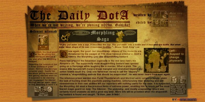 The Daily DotA Index by C-Megalodon