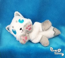 Winter Fox Plush Beanie by TheHarley