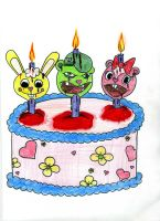 Happy Tree Friends Birthday by Vampjezzc