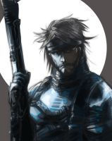 Solid Snake sketch by KimberlySwan