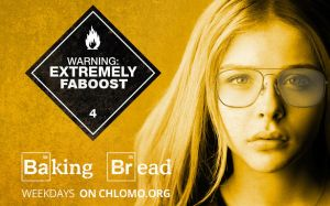 Chloe Moretz Breaking Bad poster by chilesR