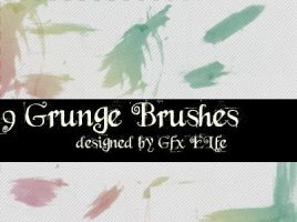 Grunge Brushes No 3 by gfx-elfe