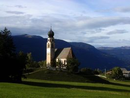 Church in Sudtirol by Gianni36