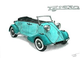 1170 1009 Messerschmitt TG1930 by TwistedMethodDan