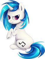 Vinyl Scratch by TheBowtieOne