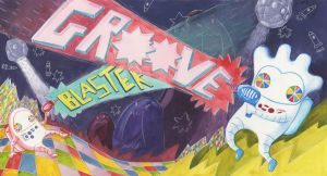 Energy Drink- Groove Blaster by thoughtshower