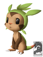 Chespin by Japandragon