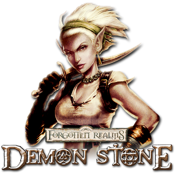 Forgotten Realms Demon Stone Custom Icon by thedoctor45