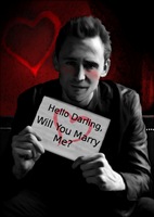 Will You Marry Me-(Hiddles) by MischievousMonster