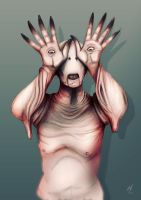 Pale Man- Pan's Labyrinth by MatthewHogben