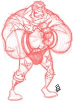 Zangief by thatjuniorbruce