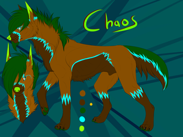 chaos reference by Thewolfanddragongirl
