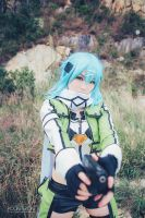 Sword Art Online - Sinon (1) by pocketpoke