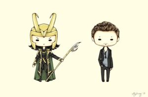 [Commission] Loki and Tom by ShadowSeason
