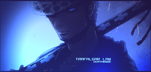 Trafalgar Law Signature 2 by DeathB00K