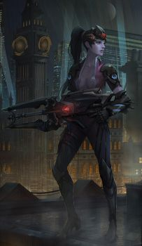 Widowmaker by yagaminoue