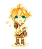 Chibi Kagamine Len by Relxion