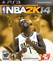 Lance Stephenson NBA2K14 Cover - PS3 by 1madhatter