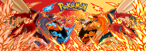 PKM fire starters: shiney vs normal by DrabounZ
