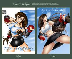 Draw this again Tifa by Mutenroushi