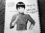 Rock Lee from Naruto by GZ-Iconic-Ent