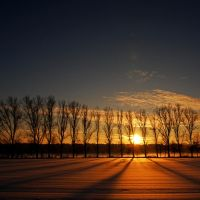 parting of the day by augenweide