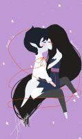 Marshall and Marceline by Chalovesapples