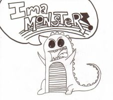 Ima Monster by BoredomIsPower