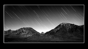 Eastern Sierra Star Trail by narmansk8