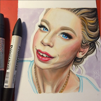 Grav3yardgirl - Fan art by Kattvalk
