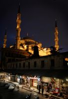 The Blue Mosque by R1ff-Raff