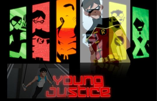 Young Justice - Robin by RainingWater
