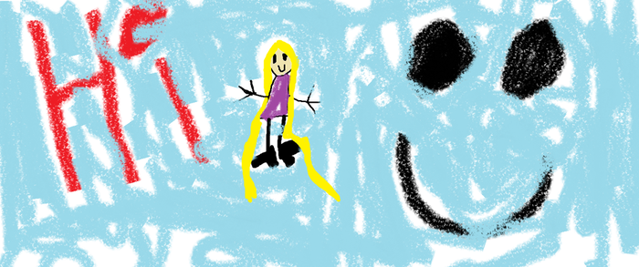 I drew this when I was 5 years old. by hboudcuh