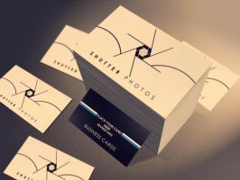 Top View Business Card Mockup by ShermanJackson