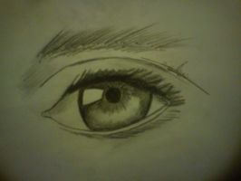 Realistic Eye by HandsomeBen