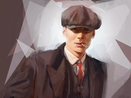 Thomas Shelby by lou2209