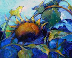 Sunflower series 1 by Bernadettedecesare