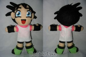 Videl Plushie by WhittyKitty