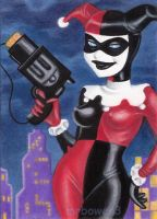 Harley Quinn card 2 by MrBowen3