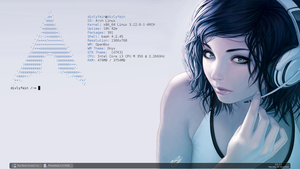 Minimal Arch Linux with Openbox by apocalypse1413
