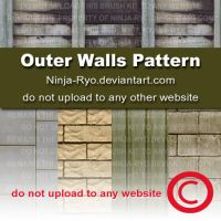 PS6 PATTERNS - Outer Walls by Ninja-Ryo